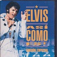 Vídeos y DVD Musicales: ELVIS PRESLEY : ASI COMO ES (EDICIÓN ESPECIAL) - DVD. Lote 95764751
