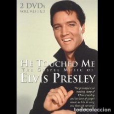 Vídeos y DVD Musicales: HE TOUCHED ME - THE GOSPEL MUSIC OF ELVIS PRESLEY - 2XDVD . Lote 95797199