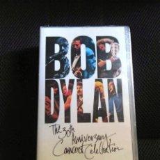 Vídeos y DVD Musicales: BOB DYLAN 30 ANIVERSARIO GEORGE HARRISON PETTY DOBLE VHS PRECINTADO COLECCION. Lote 95797911