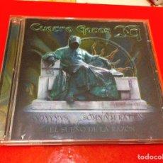 Vídeos y DVD Musicales: CD DVD HEAVY METAL. CUATRO GATOS. EL SUEÑO DE LA RAZÓN. Lote 96099779