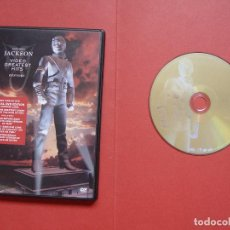 Vídeos y DVD Musicales: DVD MUSICAL: MICHAEL JACKSON (HISTORY) VIDEO GREATEST HITS (SMV, 2001) UK. ¡ORIGINAL! COLECCIONISTA. Lote 96553579