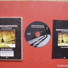 Vídeos y DVD Musicales: DVD: SIMON & GARFUNKEL (OLD FRIENDS) (COLUMBIA, 2004) UK. CON FOLLETO ¡ORIGINAL! COLECCIONISTA. Lote 96555155