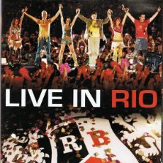 Vídeos y DVD Musicales: DVD RBD ¨LIVE IN RIO¨. Lote 97024771