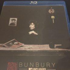 Vídeos y DVD Musicales: BUNBURY. EL LIBRO DE LAS MUTACIONES. MTV UNPLUGGED. CD + BLU-RAY + LIBRETO CON LETRAS Y FOTOS. Lote 97151192