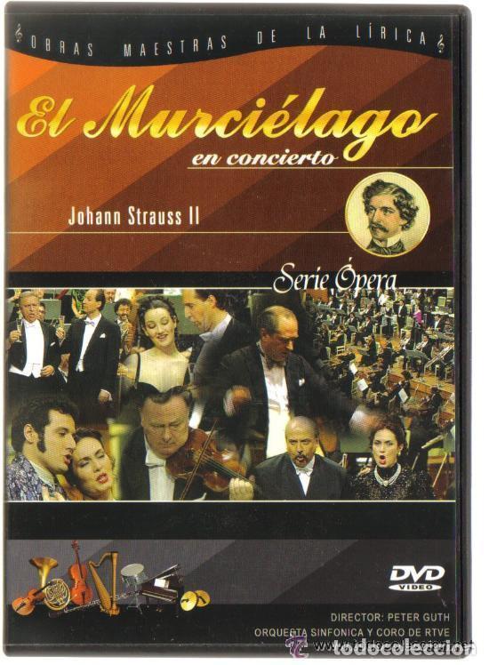 DVD OPERA - EL MURCIELAGO EN CONCIERTO - COMO NUEVO - UN SOLO USO (Música - Videos y DVD Musicales)