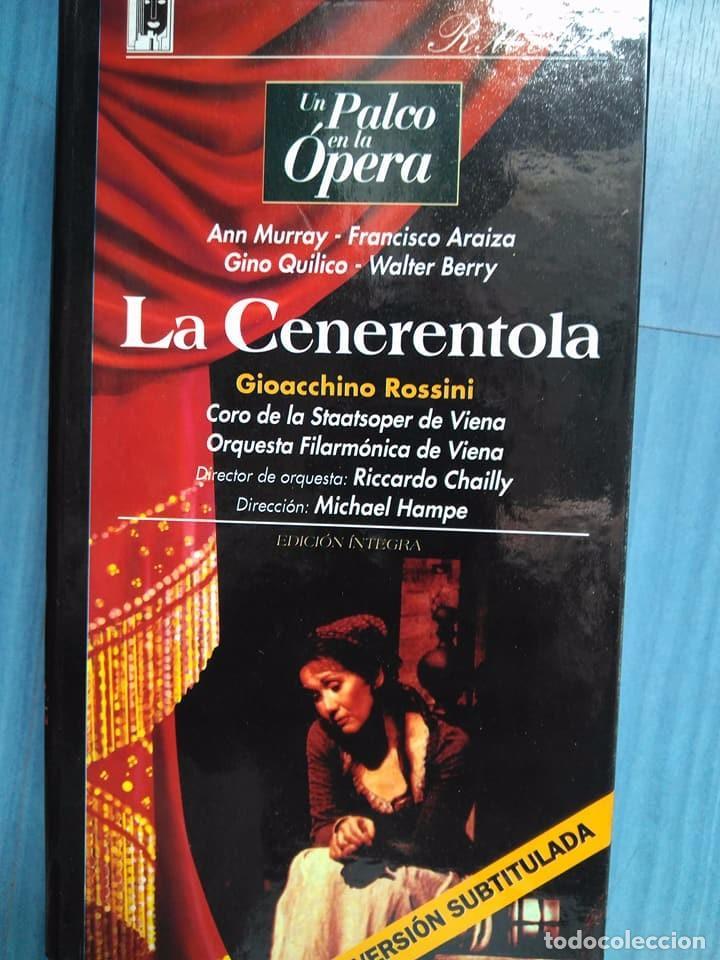 ROSSINI. LA CENERENTOLA. MURRAY. ARAIZA. QUILICO BERRY. CHAILLY. HAMPE. VHS (Música - Videos y DVD Musicales)
