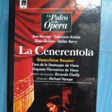 Vídeos y DVD Musicales: ROSSINI. LA CENERENTOLA. MURRAY. ARAIZA. QUILICO BERRY. CHAILLY. HAMPE. VHS. Lote 97857747