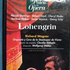 Vídeos y DVD Musicales: WAGNER. LOHENGRIN. PLÁCIDO DOMINGO. LLOYD. CHERYL STUDER. WELKER. TICHY. ABBADO. WEBER. VHS. Lote 97859779