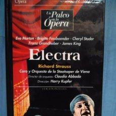 Vídeos y DVD Musicales: STRAUSS. ELECTRA. EVA MARTON. BRIGITTE FASSBAENDER. CHERYL STUDER. ABBADO. KUPFER. VHS. Lote 97860375