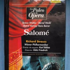 Vídeos y DVD Musicales: STRAUSS. SALOMÉ. TERESA STRATAS. BERND WEIKL. VARNAY. BEIRER. BÖHM. FRIEDRICH. VHS. Lote 97860503