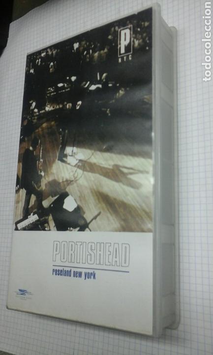 PORTISHEAD.ROSELAND NEW YORK.1998.VHS (Música - Videos y DVD Musicales)