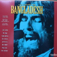 Vídeos y DVD Musicales: LOS BEATLES EN LASER DISC - CONCERT FOR BANGLA DESH. Lote 98115267