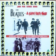 Vídeos y DVD Musicales: LOS BEATLES EN LASER DISC - A HARD DAY`S NIGHT. Lote 98115427
