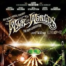 Vídeos y DVD Musicales: DVD WAR OF THE WORLDS THE NEW GENERATION JEFF WAYNE MUSICAL-CONCIERTO-LIVE LIAM NEESON. Lote 98128795