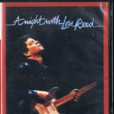 Vídeos y DVD Musicales: A NIGHT WITH LOU REED. LOU REED IN CONCERT. Lote 98156747