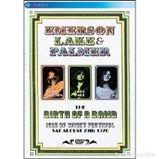 Vídeos y DVD Musicales: EMERSON LAKE & PALMER * DVD * BIRTH OF A BAND * PRECINTADO * RARE. Lote 98414383