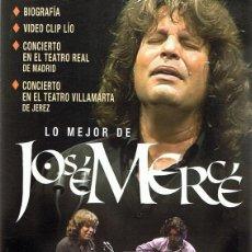 Vídeos y DVD Musicales: DVD LO MEJOR DE JOSÉ MERCÉ . Lote 98814483