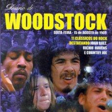 Vídeos y DVD Musicales: DVD DIARIO DE WOODSTOCK SEXTA FEIRA 15 DE AGOSTO 1969. Lote 98815563