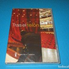 Vídeos y DVD Musicales: TRAS EL TELON ( TEATRO REAL - 10 AÑOS ) - DVD - NUEVO Y PRECINTADO. Lote 99108387