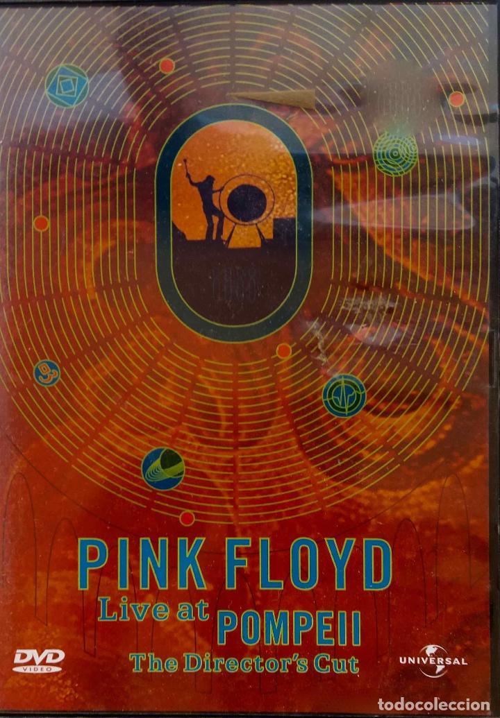 PINK FLOYD  LIVE AT POMPEII  LA VERSIÓN DEL DIRECTOR  DVD