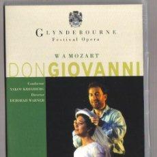 Vídeos y DVD Musicales: DVD OPERA - DON GIOVANNI DE W. A. MOZART - COMO NUEVO - UN SOLO USO . Lote 99829683