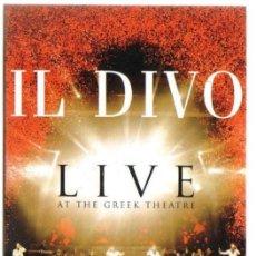 Vídeos y DVD Musicales: DVD CONCIERTO DE IL DIVO EN VIVO EN EL TEATRO GRIEGO - COMO NUEVO - UN SOLO USO . Lote 100090683