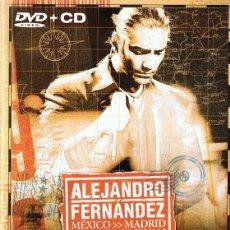 Vídeos y DVD Musicales: ALEJANDRO FERNÁNDEZ MÉXICO - MADRID ( DVD + CD). Lote 100161711