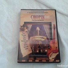 Vídeos y DVD Musicales: CHOPIN. A NAXOS MUSICAL JOURNEY. PIANO CONCERTOS NOS. 1 & 2. RECORRIDO POR FRANCIA. DVD. Lote 100202063