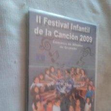 Vídeos y DVD Musicales: II FESTIVAL INFANTIL DE LA CANCIÓN 2009. PRECINTADO. EN CAJA ESTRECHA. SIN ABRIR. RARO. Lote 101067471