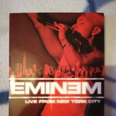 Vídeos y DVD Musicales: DVD EMINEM LIVE FROM NEW YORK CITY, NUEVO. Lote 101121123