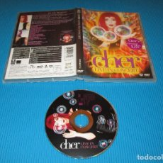 Vídeos y DVD Musicales: CHER ( LIVE IN CONCERT ) - DVD - 8573-80177-2 - WEA - WARNER MUSIC VISION - DO YOU BELIEVE ?. Lote 101226247