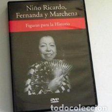 Vídeos y DVD Musicales: NIÑO RICARDO FERNANDA Y MARCHENA - FIGURAS PARA LA HISTORIA - DVD FLAMENCO RBA - MÚSICA CANTE BAILE. Lote 101415115