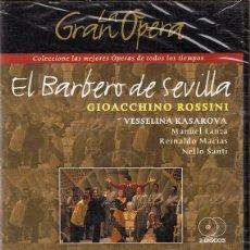 Vídeos y DVD Musicales: DVD EL BARBERO DE SEVILLA GIOACCHINO ROSSINI (PRECINTADO). Lote 102046651