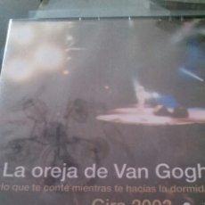 Vídeos y DVD Musicales: LA OREJA DE VAN GOGH–LO QUE TE CONTÉ MIENTRAS TE HACÍAS LA DORMIDA DVD PRECINTADO. Lote 102068551