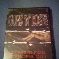 Vídeos y DVD Musicales: GUNS N' ROSES NOVEMBER RAIN IN PARADISE CITY DVD PRECINTADO. Lote 102452091