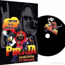 Vidéos y DVD Musicaux: HISTORIA DE LA EMISIÓN PIRATA EDICIÓN ESPECIAL 15 ANIVERSARIO - DVD. Lote 199302768