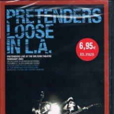 Vídeos y DVD Musicales: PRETENDERS LIVE SIN DESEMBALAR. Lote 102642243