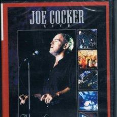 Vídeos y DVD Musicales: JOE COCKER LIVE CONCERT SIN DESEMBALAR. Lote 102642871