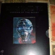 Vídeos y DVD Musicales: IRON MAIDEN VISIONS OF THE BEAST 2 DVD THE COMPLETE VIDEO !!!NUEVO!!! PRECINTADO. Lote 102687971