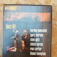 Vídeos y DVD Musicales: DVD THIS IS JAZZ. Lote 102954400