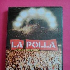 Vídeos y DVD Musicales: VAMOS ENTRANDO -LA POLLA-PRECINTADO -DVD.. Lote 103476122