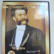 Vidéos y DVD Musicaux: DVD CLÁSICOS DE ORO. JOHANN STRAUSS. . Lote 103582675