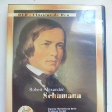 Vidéos y DVD Musicaux: DVD CLÁSICOS DE ORO. SCHMANN. Lote 103583263