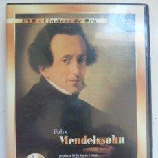 Vidéos y DVD Musicaux: DVD CLÁSICOS DE ORO. MENDELSSOHN. Lote 103585483