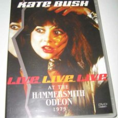 Vídeos y DVD Musicales: KATE BUSH - LIVE AT THE HAMMERSMITH ODEON 1979 - DVD. Lote 103786615