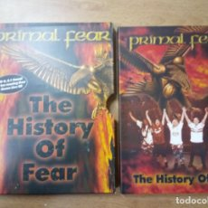 Vídeos y DVD Musicales: DVD PRIMAL FEAR - THE HISTORY OF FEAR - DVD + BONUS AUDIO CD – POWER HEAVY . Lote 104024823