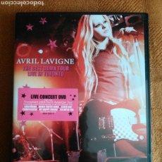 Vídeos y DVD Musicales: AVRIL LAVIGNE. THE BEST DAMN TOUR LIVE IN TORONTO. LIVE CINCERT DVD.. Lote 104119507