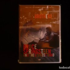 Vídeos y DVD Musicales: BLOOD BROTHERS BRUCE SPRINGSTEEN AND THE E STREET BAND - DVD NUEVO PRECINTADO. Lote 104174995