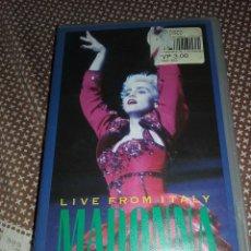 Vídeos y DVD Musicales: MADONNA CIAO ITALIA. Lote 104452975