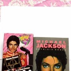 Vídeos y DVD Musicales: MICHAEL JACKSON LA LEYENDA CONTINÚA VHS +LIBRO PATRICIA GODES SALVAT. Lote 104598555